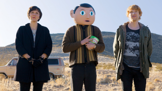 Frank, a bonkers movie about creativity
